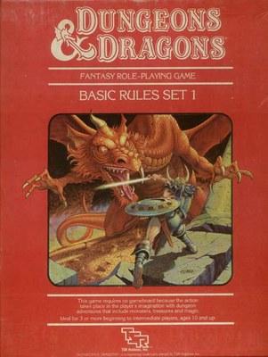 1983 Frank Mentzer Basic D&D Red Box BECMI